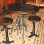 Ironworks Crank Pub Table