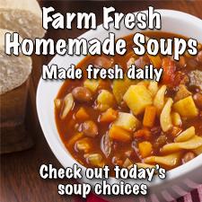 Farm fresh soups