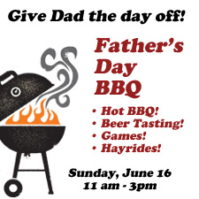 father's day bbq copy