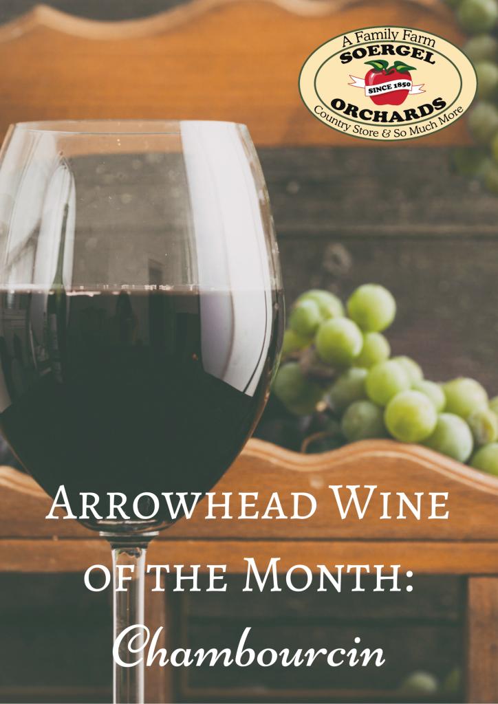 Arrowhead Wine of the MonthChambourcin (1)
